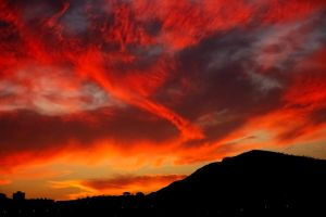 Burning sky by pmsmgomes
