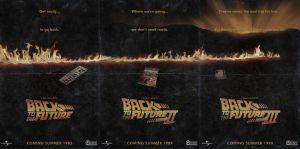 Back to the Future Trilogy by NewRandombell
