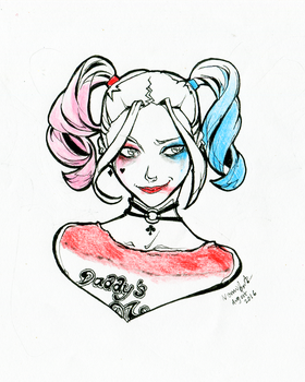 Harley Quinn Suicide Squad by momijigirl