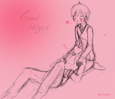Hetalia Good Night Alfred by hanalelouch-sama