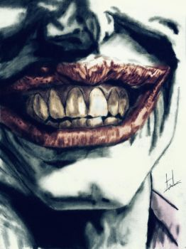 The Man Who Laughs - Color by supridiot