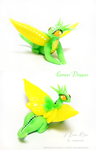 Lemon dragon (for GIVEAWAY) by rosepeonie