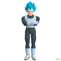 DBXV - Vegeta SSGSS by Postmortacum