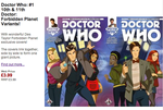 DR WHO VARIANT COVERS- BY DES TAYLOR by DESPOP