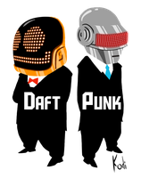 Daft Punk by codeart