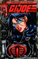 Baroness bust sketch cover by gb2k