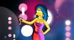 Marge Simpson by DJFry