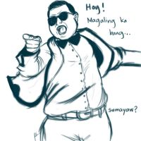 I Want You To Do Gangnam Style by jamesnidea