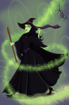 Maleficent the Wicked by ADQuatt
