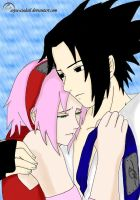 At last together..Colored by naruto6393