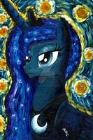 Princess Luna (Impressionist) by Nokills-Clan196