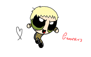 Black Parade Gerard Way Powerpuff by CheeseOnToastGurl