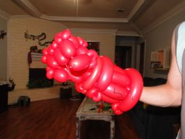 Balloon Right Hand of Doom by DJdrummer