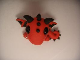 Red Dragon top view by XDtheBEASTXD