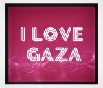 I Love Gaza by AariffAlavi