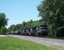 Norfolk Southern 9543 by LDLAWRENCE