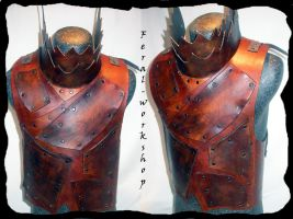 Orcish armor by Feral-Workshop