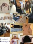 Xenosaga II: Jacket WIP collage by RamenCartel