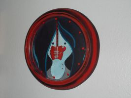 Rockin' your wall: Marceline clock by cutiechibi