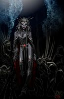 Drow Shadowcaster by LazarusReturns