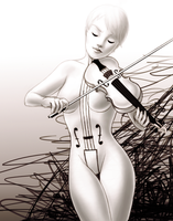 The White Violin by Saaally