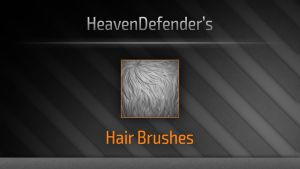 Hair Brushes by HeavenDefender