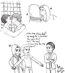 ProtoCreed sketches by lizathehedgehog
