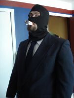 Team Fortress Spy Cosplay 3 by RebelATS