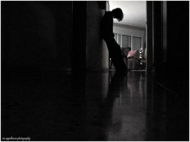 alone in the darkness by Nivster
