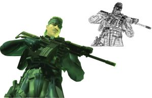 Metal Gear Mesh Project by TheWax