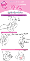 MLP:FIM OC (Horrible drawing.) by MMDFantage
