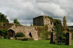 Usk Castle 2 by Tinap