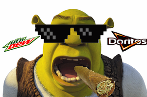 Mlg Shrek by BananaW0lf64