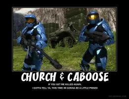 Chuch and Caboose by Crosknight
