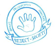 Reject-Society Logo by waterpieces