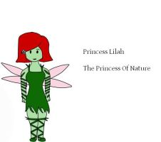 Lilah The Princess of Nature by yaoilover998
