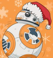 Christmas BB8 by msciuto