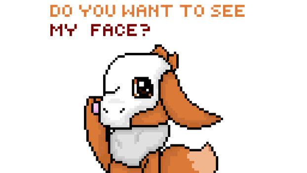 Fakemon - Wanna see my face? by Pinkapop