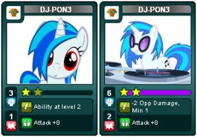 My Little Rivals: Urban is Magic. DJ-PON3 by LhasaApso