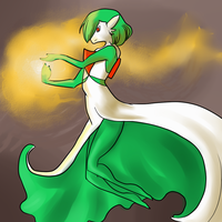 PF -- Draw Me A Gardevoir by static-mcawesome