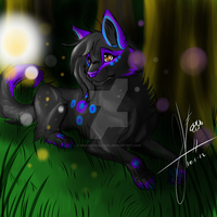 Wolf i just recently adopted ^^ by invaderwolfgirl