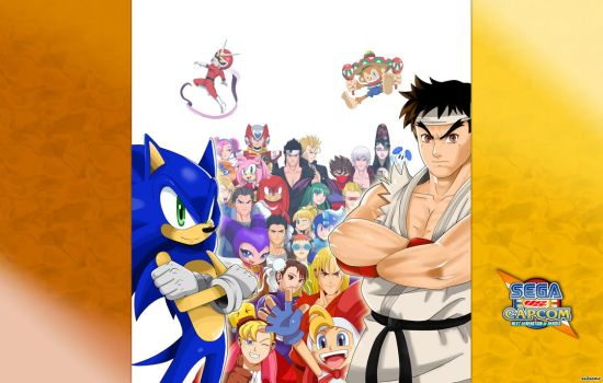 Sega vs Capcom: Wallpaper 1 by ss2sonic