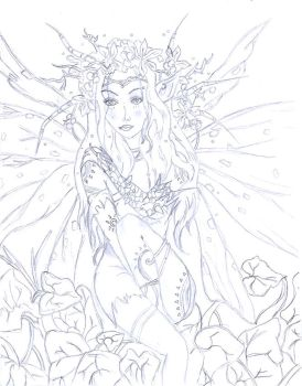 fairy-queen by Mel-Nedved