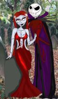 jack and sally vampires by ScorpionsKissx