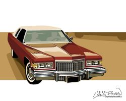 1970's Cadillac Wallpaper by CRWPitman