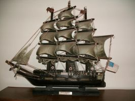 USS Constitution 1814 Ship by Rubyfire14-Stock