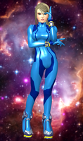 Samus Aran(Zero Suit) Super Smash Bros(Wii U). by XKammyX