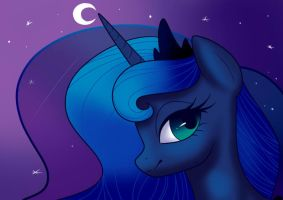 Day 1: Luna by dezalouscancer