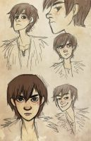 Hiccup faces by napallama