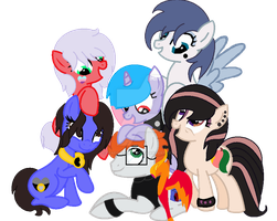 Ask~ Mane six! by DeafInBothEyes